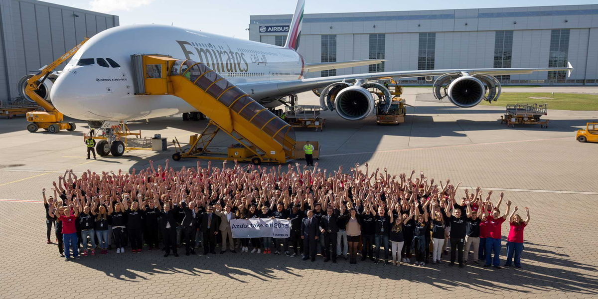 Ausbildung Airbus Defence and Space