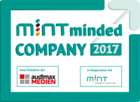 Voith GmbH & Co. KGaA - Siegel_MINT-minded-COMPANY_2017