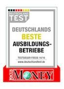 REWE Group - focus money - beste Ausbildungsbetriebe