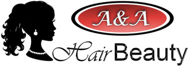 Logo A&A Hair Beauty