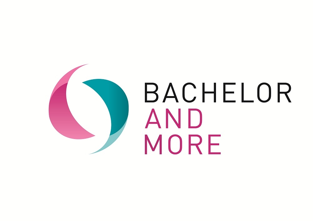 Logo BACHELOR AND MORE Messe Münster