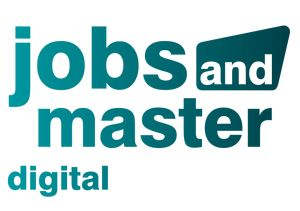 Logo jobs and master - Dein digitales Karriere-Event