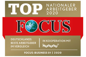 Hoffmann SE - FOCUS Business - TOP Nationaler Arbeitgeber 2020