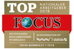 Hoffmann SE - FOCUS Business - TOP Nationaler Arbeitgeber 2018