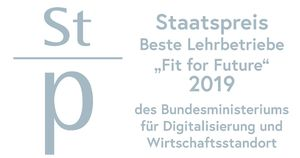 "Staatspreis - Beste Lehrbetriebe ""Fit for Future 2019"""