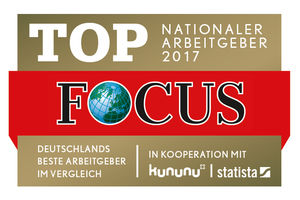 FOCUS Business - TOP Nationaler Arbeitgeber 2017