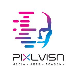 PIXL VISN media arts academy - Logo
